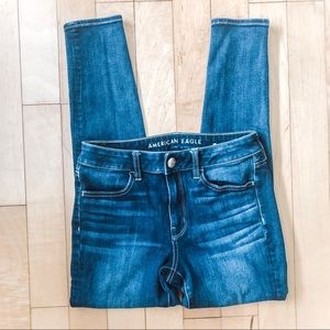 American Eagle Outfitters Skinny Blue Jeans